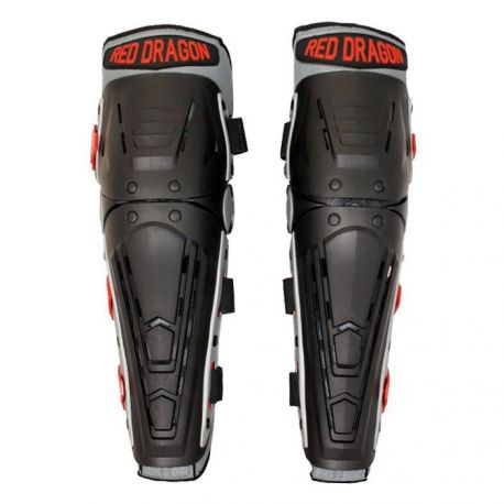 "Knee and Shin Guard ""Red Dragon"""